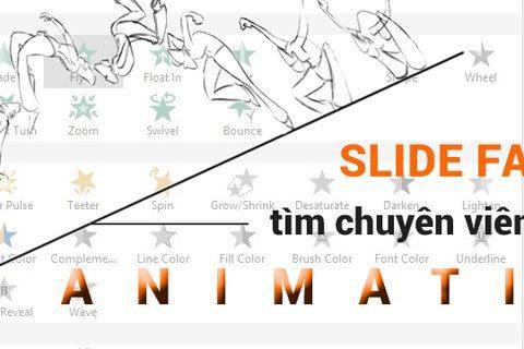 Tuyển dụng Chuyên viên thiết kế chuyển động Animation