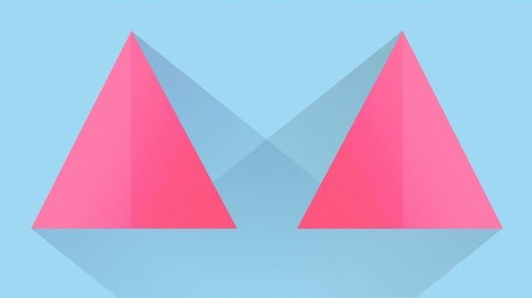 nguyên tắc layout: cân bằng đối xứng