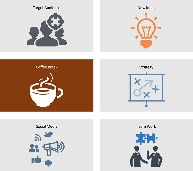 icon cho slide, icon thuyết trình