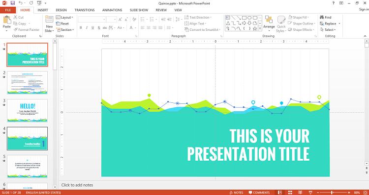 Template dễ dàng dơn và sử dụng cho powerpoint