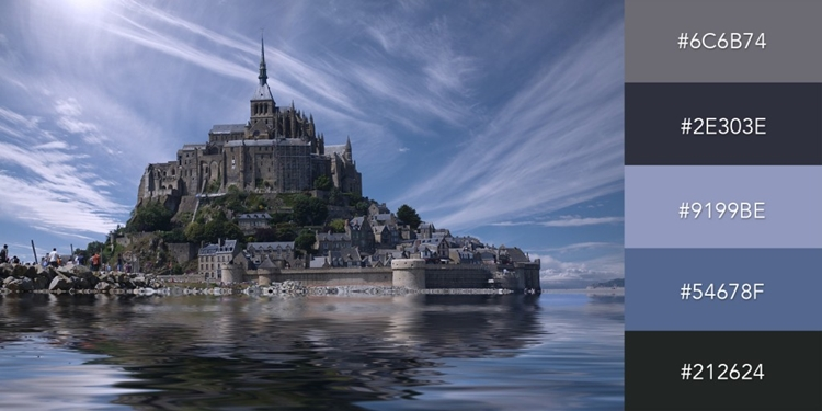 Hình ảnh nhà thờ ở Normandy có thể tạo cho thiết kế của bạn một vẻ bí ẩn, bình tĩnh và chuyên nghiệp.
