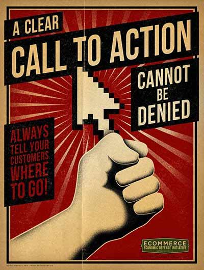 """""""Call to action"""" vô cùng quan trọng"""