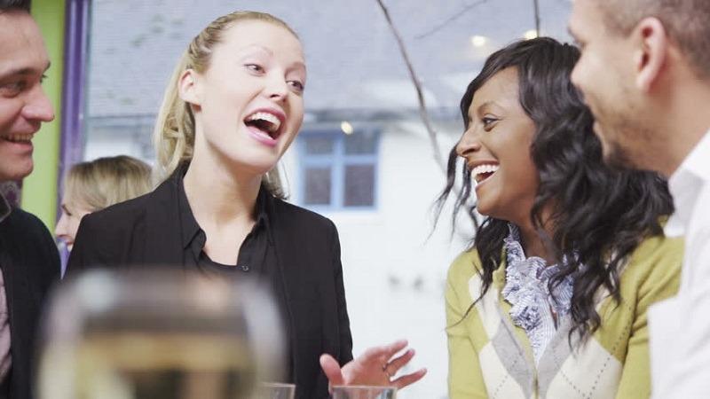 woman-telling-a-joke