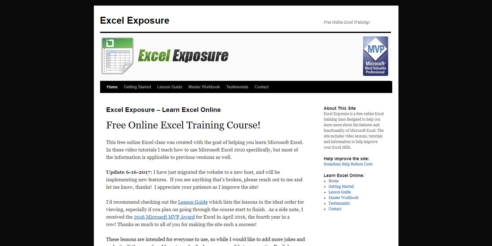 5 website học excel chuyên nghiệp