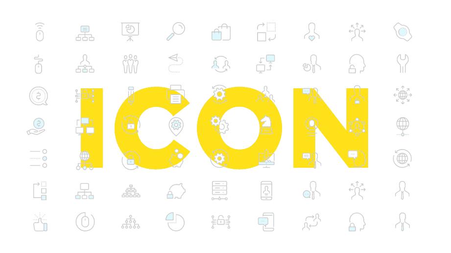 Thuyết trình sáng tạo và cảm hứng với icon cho Powerpoint