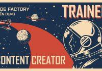 Trainee Content Creator 2020 SF