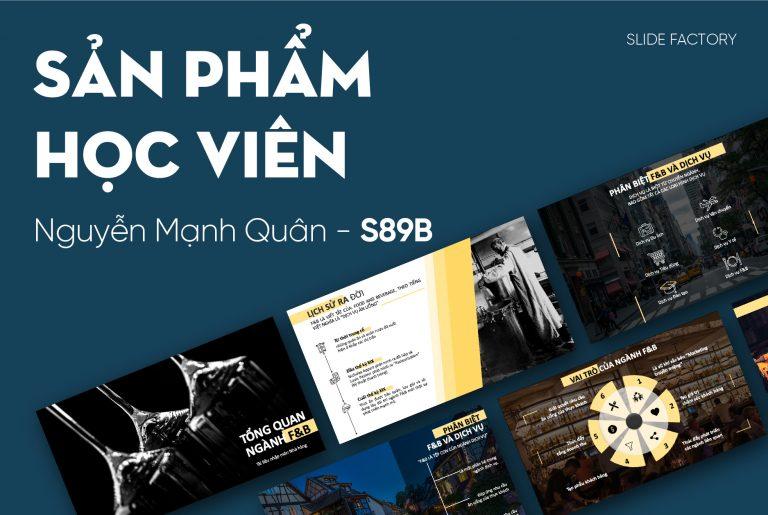 Nguyễn Mạnh Quân – S89B