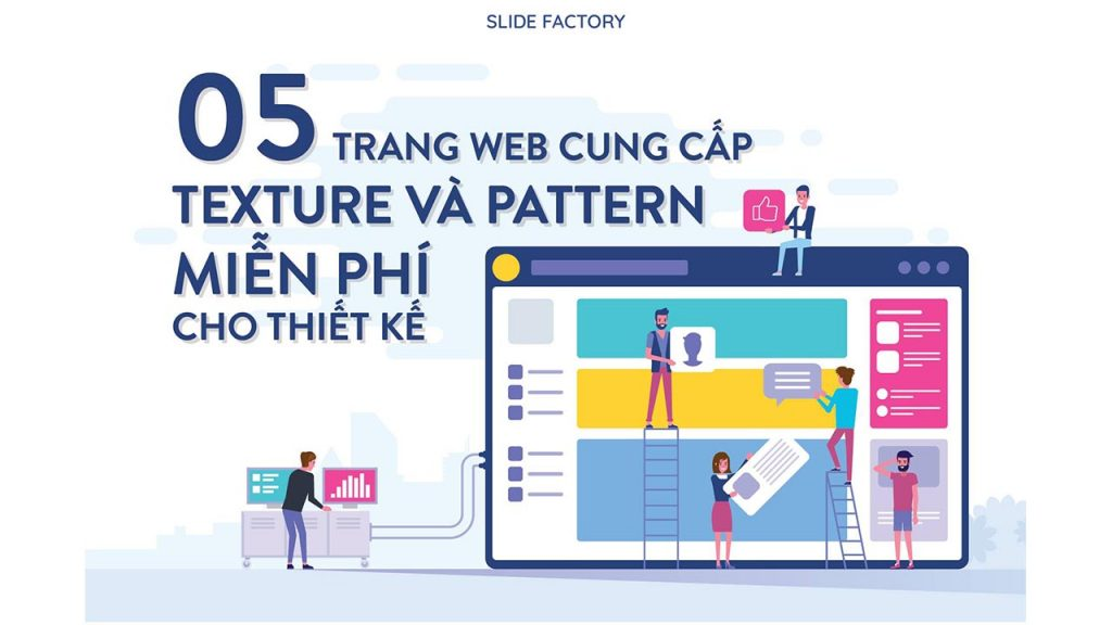 5 website cung cấp pattern free cho thiết kế