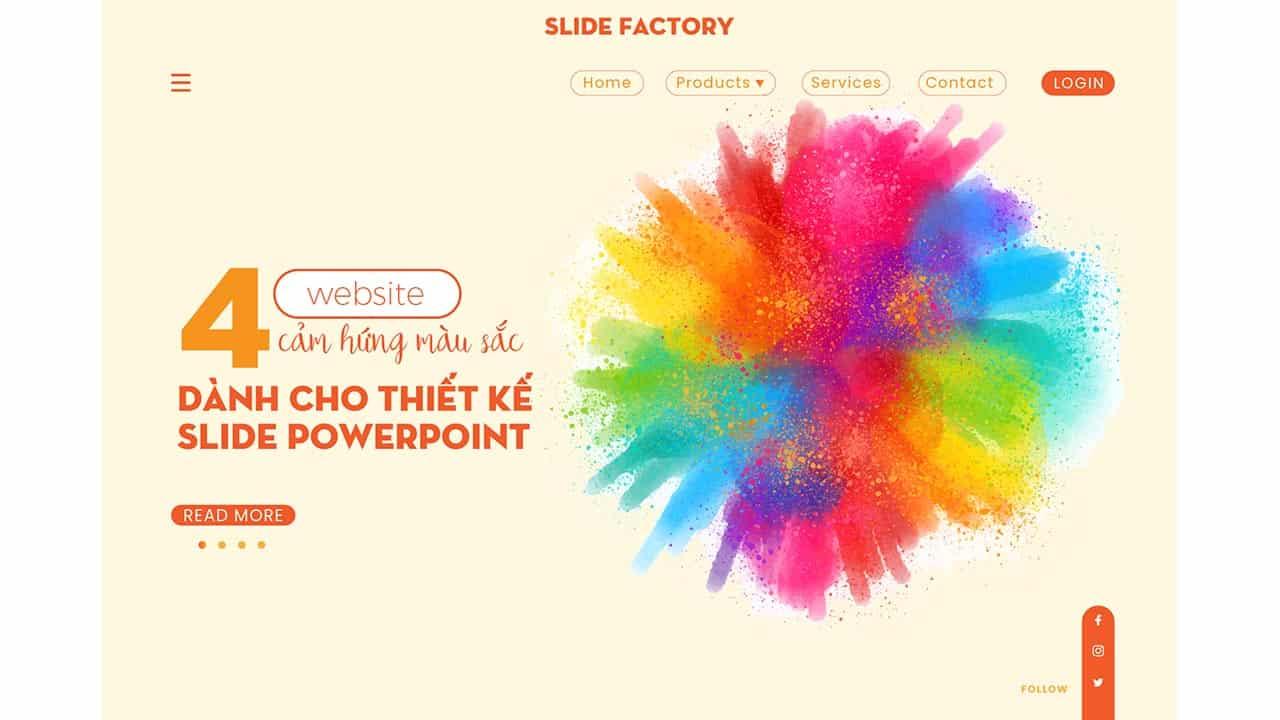 7 Website hỗ trợ phối màu cho thiết kế Powerpoint